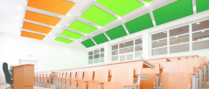 Kumaş Kaplı Tavan Panelleri